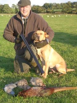 Rough shooting at Craigaddam 2008