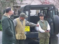 Richard, Ian and Amy Craigaddam 2008