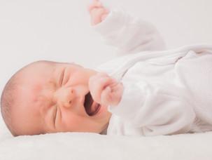 赤ちゃんが夜泣きをするのは!