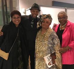 w/ Drs. Joy Degruy, Patricia Newton, and Altha Stewart