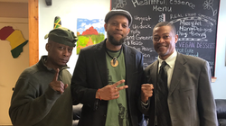 w/ Professor Griff and Dr. T. Owens Moore