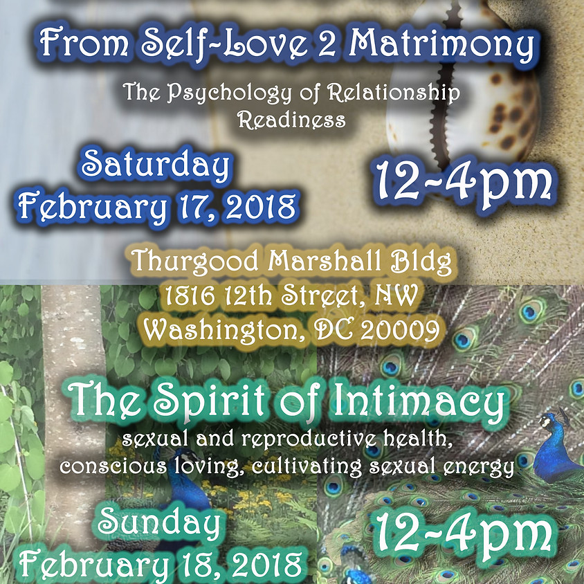 Black Love Series: The Spirit of Intimacy