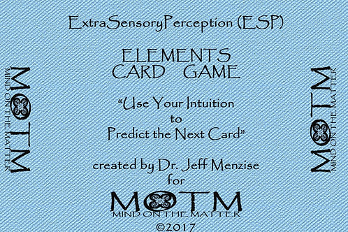 ESP Elements Card Game