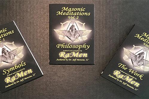 Masonic Meditations BUNDLE Vols. 1, 2, & 3
