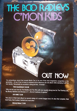 Original Boo Radley's promo poster 1996
