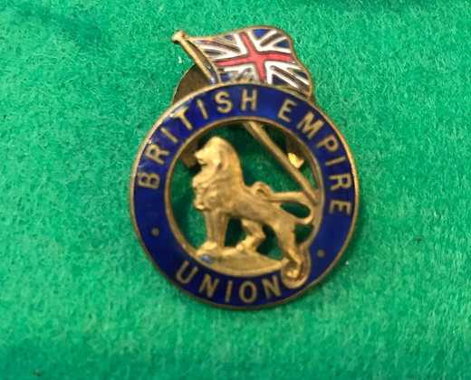 WW2 British Empire Union propaganda badge