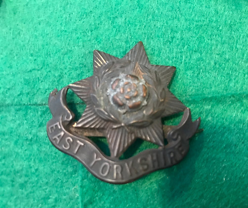 WW1 East Yorkshire Regiment Pin Badge