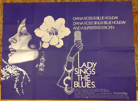 Original Diana Ross - Lady sings The Blues film poster 1972