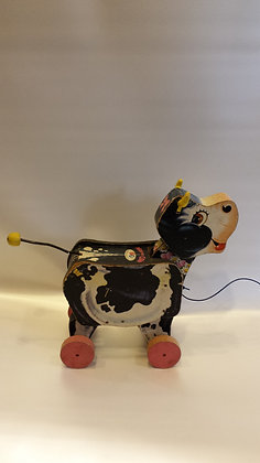 Vintage MOO-oo Cow Fisher Price Toy