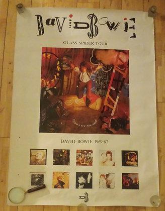 David Bowie Original Historic Concert Tour Poster