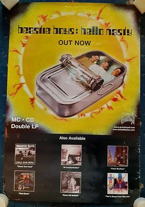 Beastie Boys Hello Nasty Promo poster