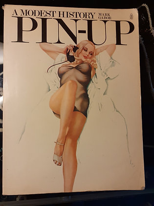 A Modest History Pin-up by Mark Gabor 1974