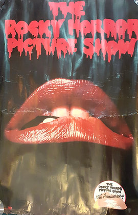 Rocky Horror Picture Show 15th Anniversary Poster