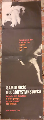 Loneliness Of A Long Distance Runner - Polish film poster