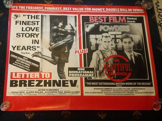 My Beautiful Laundrette /Letter to Brezhnev Film P