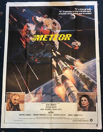 Meteor - Original French Film Poster