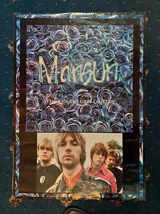 Original Mansun promo poster.