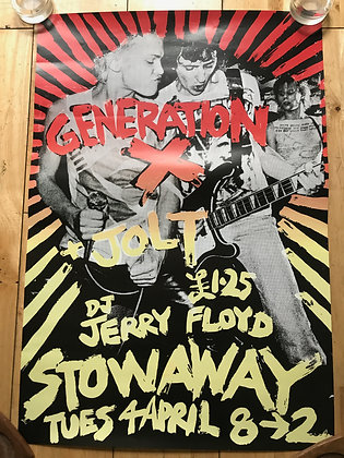 Generation X Repro Poster