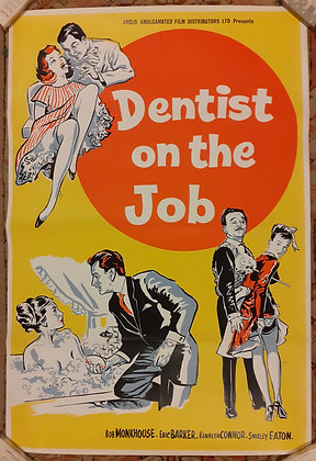 Dentist On The Job Original film poster 1961