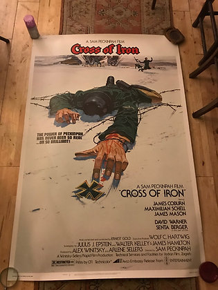 Original U.S. Film poster - Cross Of Iron