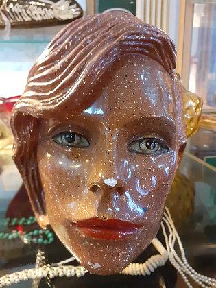 Retro style fibreglass head with ceramic coating.