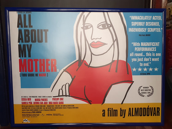 All about My Mother Film poster