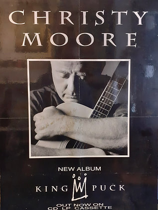 ChristyMoore Signed promo poster 1993