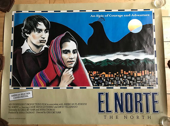 Original Film Poster for El Norte (The North) 1983