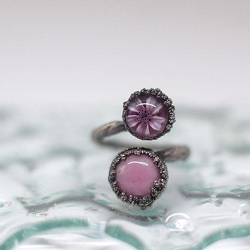 "Кольцо "" Цвет розовой сакуры"""