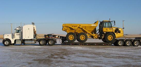 Transport Rock Truck