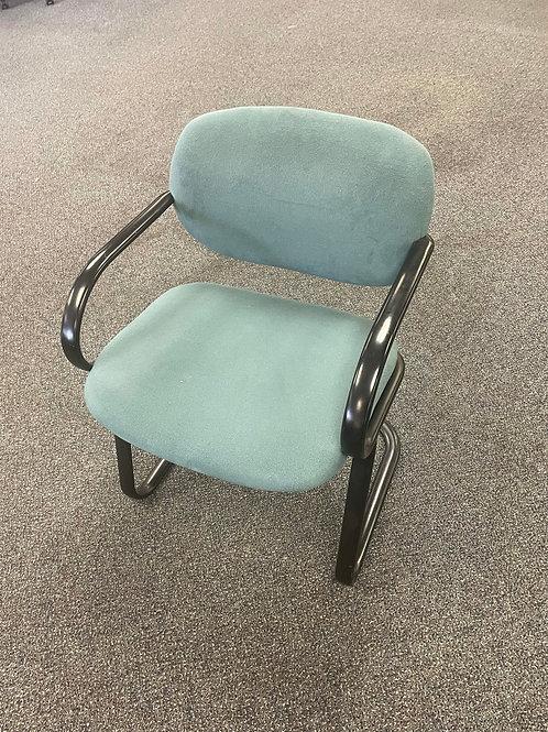 Haworth Guest Chair -Light Blue