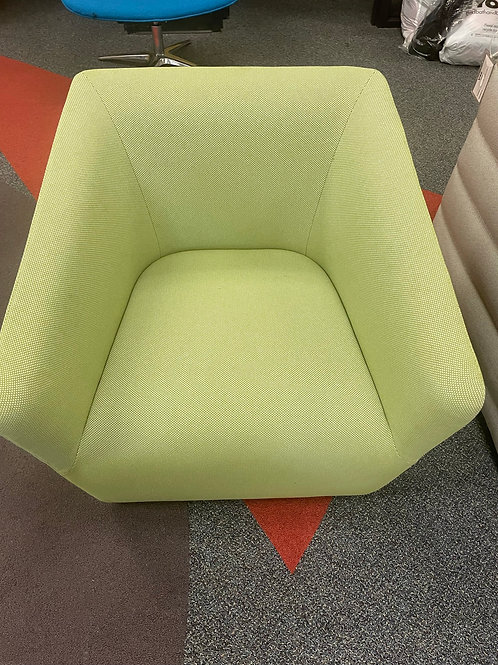 Occasional Lounge Chair -Lime Green