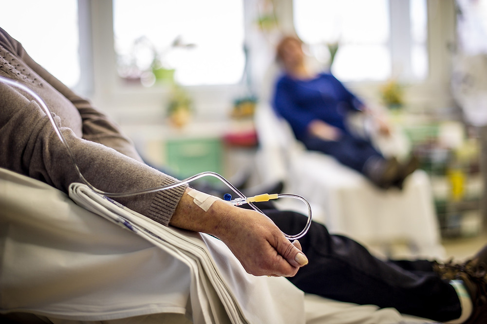 Cancer patients receiving chemotherapy