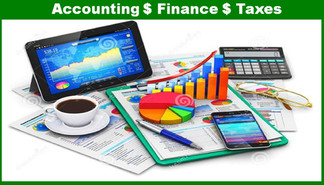 Accounting $ Finance $ Taxes