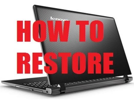Undo And Restore
