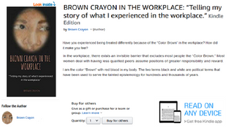 Brown Crayon in the Workplace