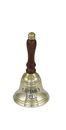 Tischglocke 12,5cm - CAPTAIN'S BELL