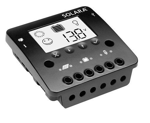 Laderegler 12V / 24V LCD - Serie