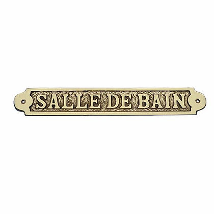 Türschild SALLE DE BAIN - 25cm