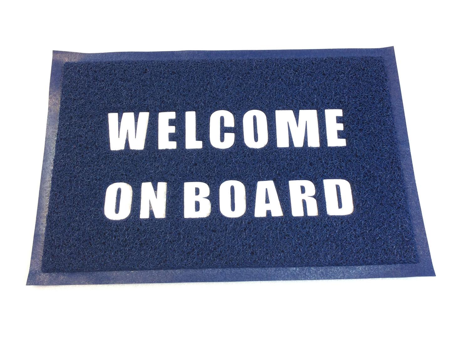Fussmatte WELCOME ON BOARD SMA Nautic Sh