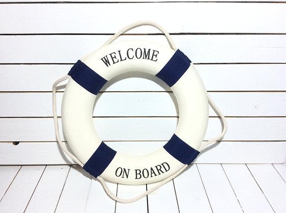 Rettungsring Ø 50cm WELCOME ON BOARD