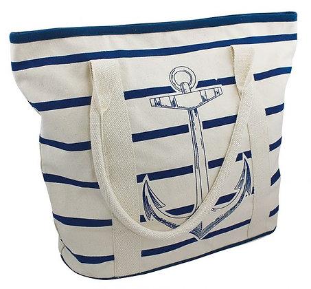 Shopping - Tasche mit Ankerdruck