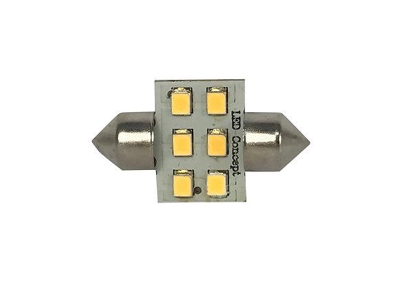 LED Glühbirne - SV8.5 / 6LED