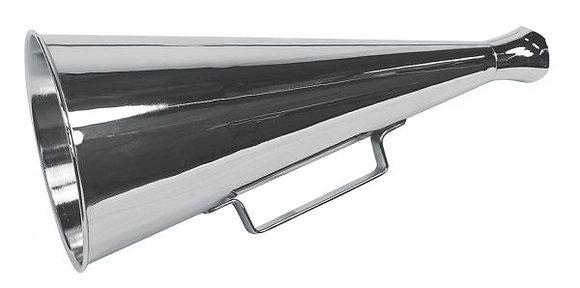 Megaphon Messing/vernickelt - 34cm