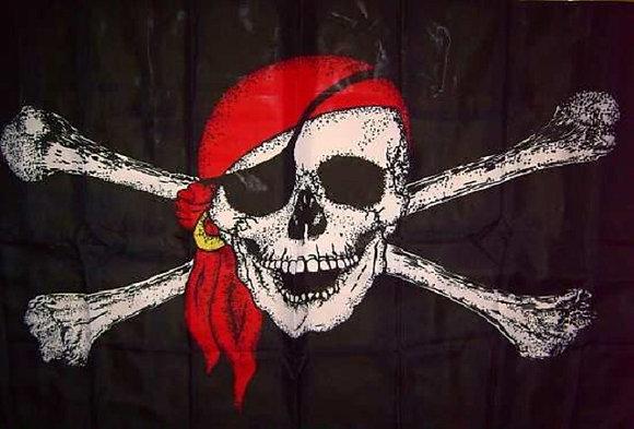 Piratenflagge Jolly Roger 150cm x 90cm