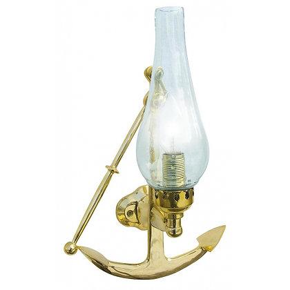 Wandlampe Anker Elektrisch aus Messing - 35cm