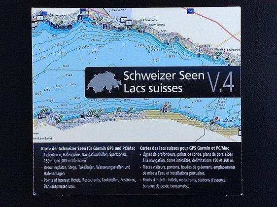 Seekarten Schweiz V4 - GARMIN Digital