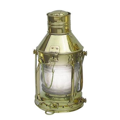 Ankerlampe Elektrisch aus Messing - 32cm