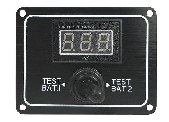 Batterie - Spannungsanzeige zum Einbau