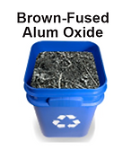 Wisdo recyles Brown-Fused Alum Oxide